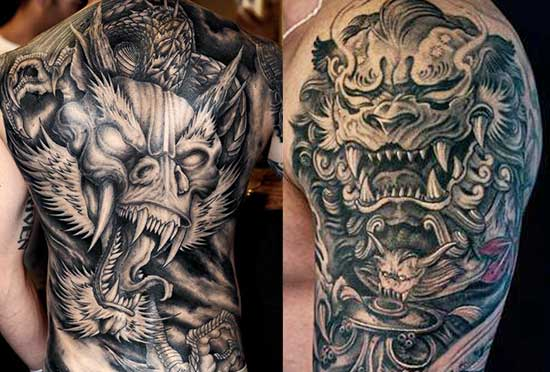 Grey-And-Black-Wash-tattoos