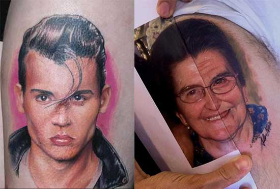 Portraits-tattoos